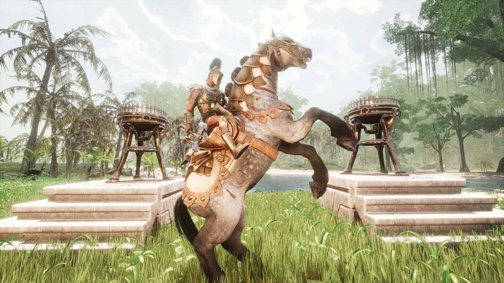 Conan Exiles Argos DLC Pferd
