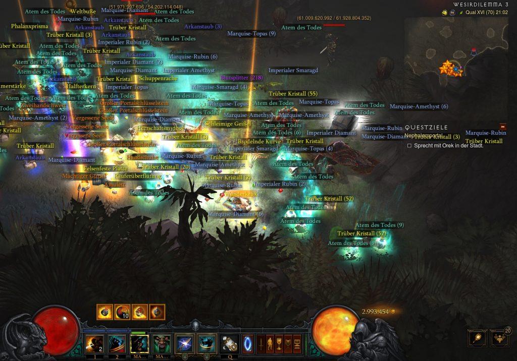 Diablo 3 Barbar Loot