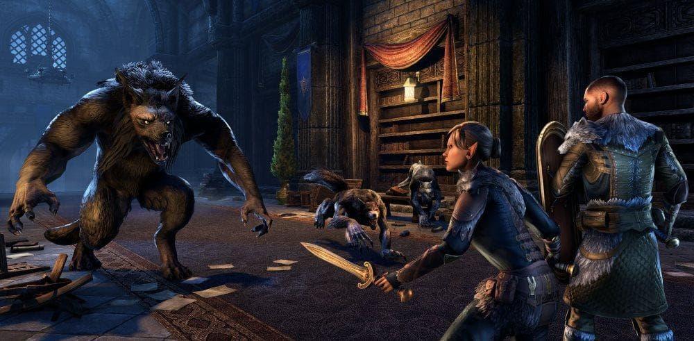 ESO Mondjägerfeste Dungeon Wolf