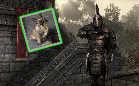ESO Titel Schrein toter Hund Kaiserlicher
