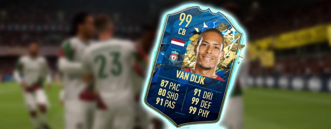FIFA 20: Premier League Team of the Season ist da – mit van Dijk