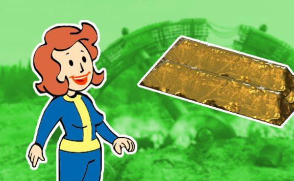 Fallout 76 GOldbarren farmen titel