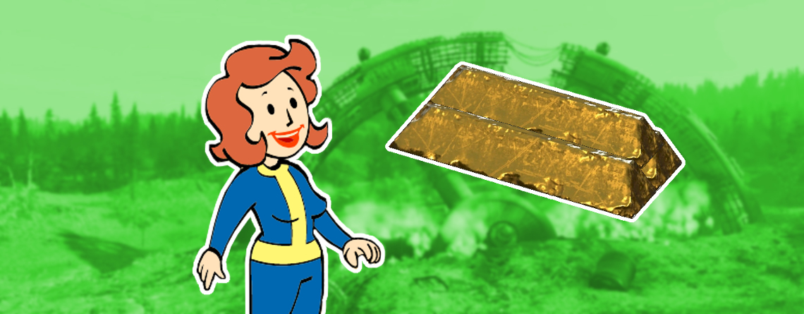 Fallout 76: So farmt ihr Goldbarren und tauscht sie bei Händlern gegen Spitzen-Loot