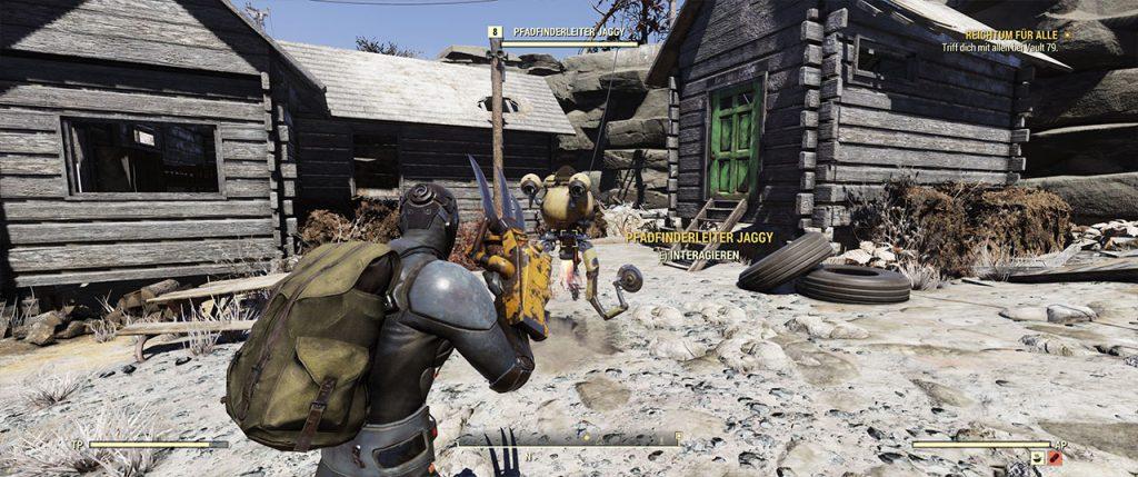 Fallout 76 Pfadfinderleiter Jaggy