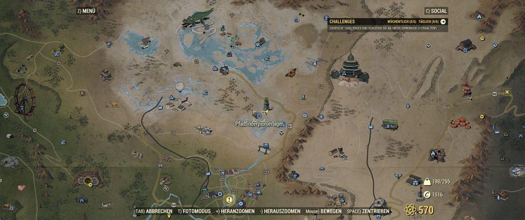 Fallout 76 Pfadfinderpionierlager
