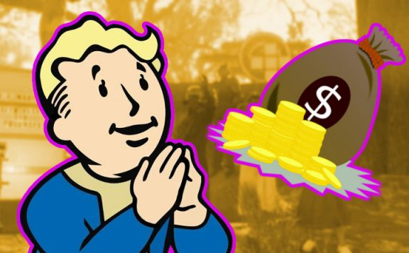 Fallout 76 Spieler sammeln Geld für Doc Titel