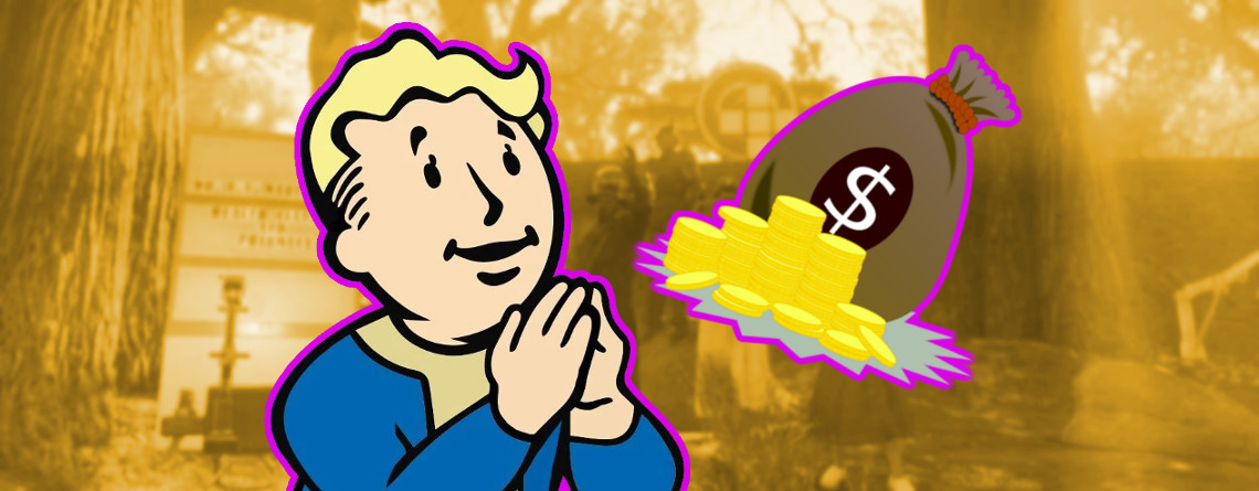 Fallout 76: Spieler sammeln Geld, um verunglücktem Helden zu helfen