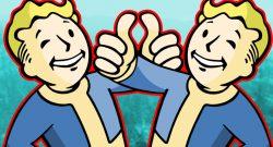 Fallout 76 Wastelanders Doppelter Vault Boy Daumen