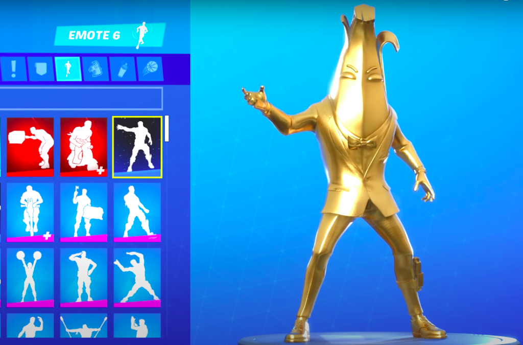 Fortnite-agent-peely-gold