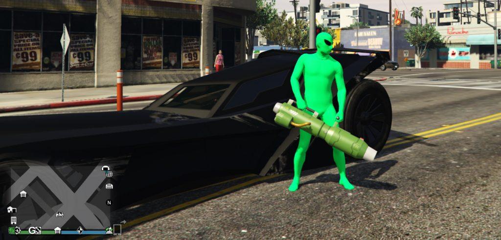 GTA Online Alien Waffe