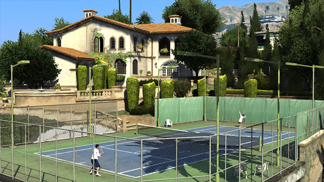 GTA Online Tennis
