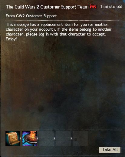 Guild Wars 2 Entschädigung Rollback