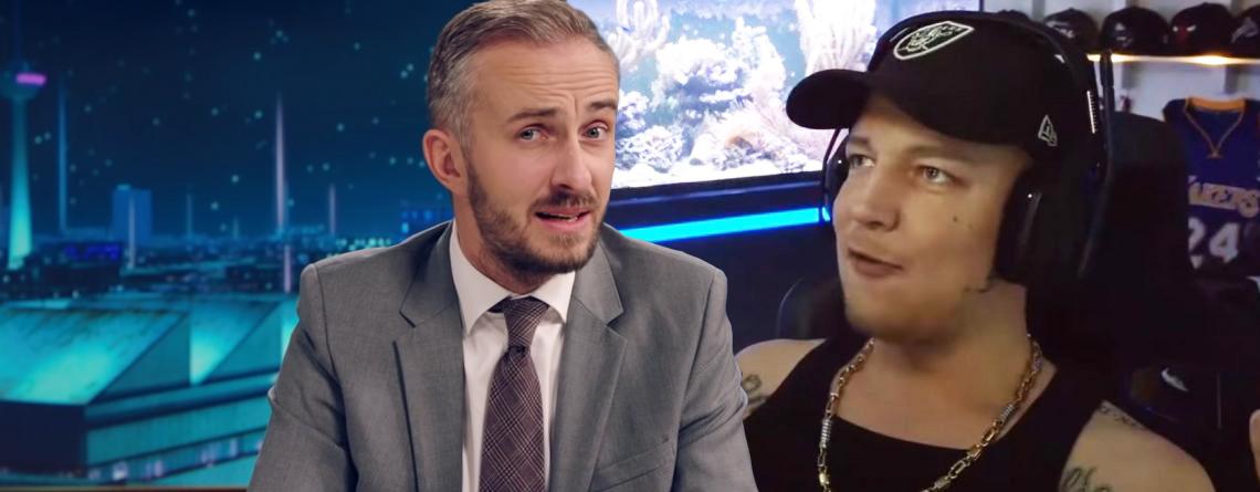 Böhmermann schiebt deutschen Twitch-Star in rechte Ecke – Der wehrt sich