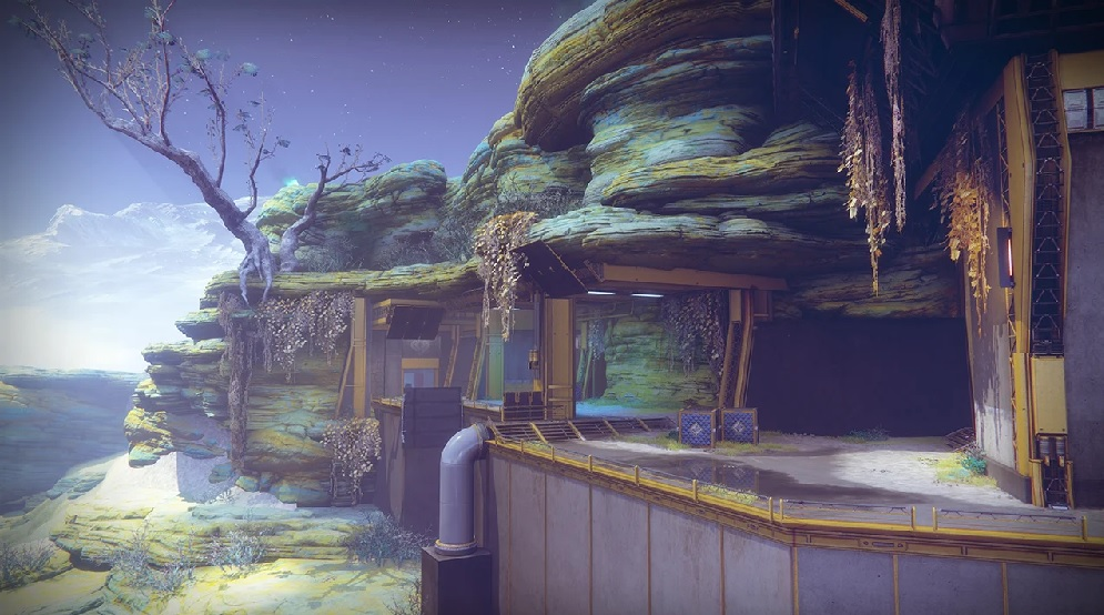 Javelin 4 PvP Map Karte Destiny 2
