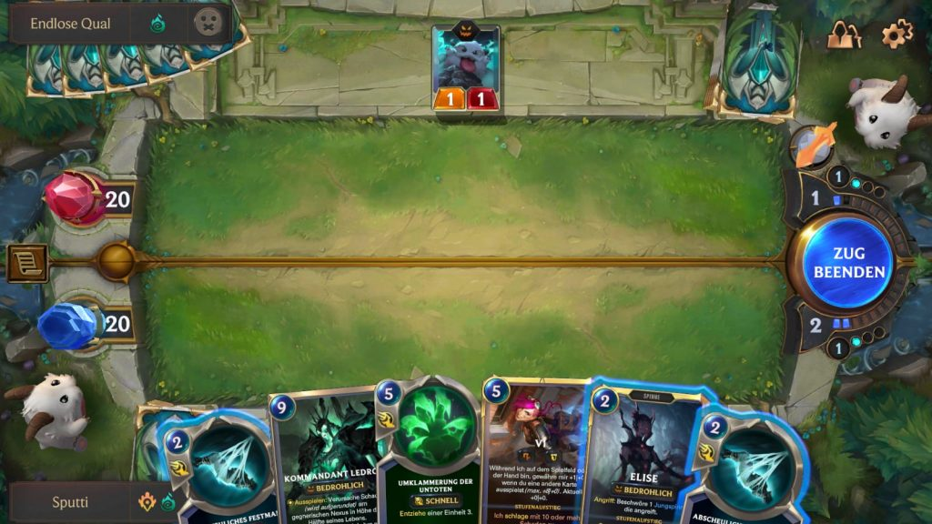 Legends of Runeterra Mobile Screenshot Karten