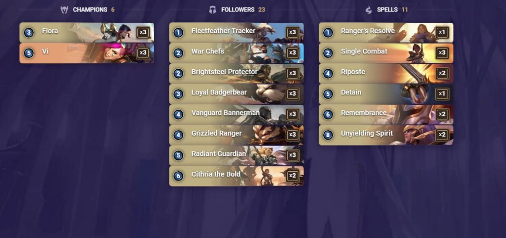 Legends of Runeterra bestes Deck