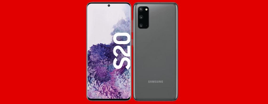 Samsung Galaxy S20 mit  LTE-Tarif aktuell günstig bei MediaMarkt