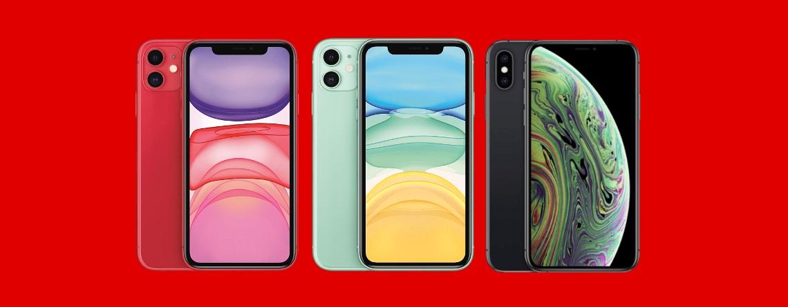 iPhone 11 und XS mit viel Speicher aktuell günstig bei MediaMarkt
