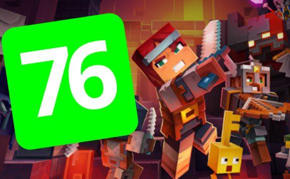 Minecraft Dungeons 76 Titel