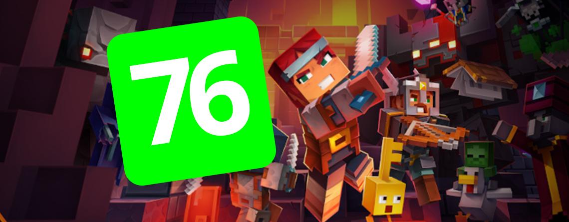 Erste Tests zu Minecraft Dungeons: Wie es zur 76/100-Metacritic-Wertung kommt