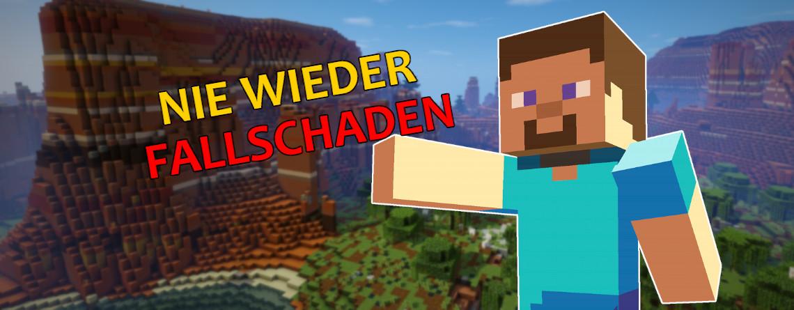 Minecraft: Mit diesem Glitch erleidet ihr keinen Fallschaden mehr