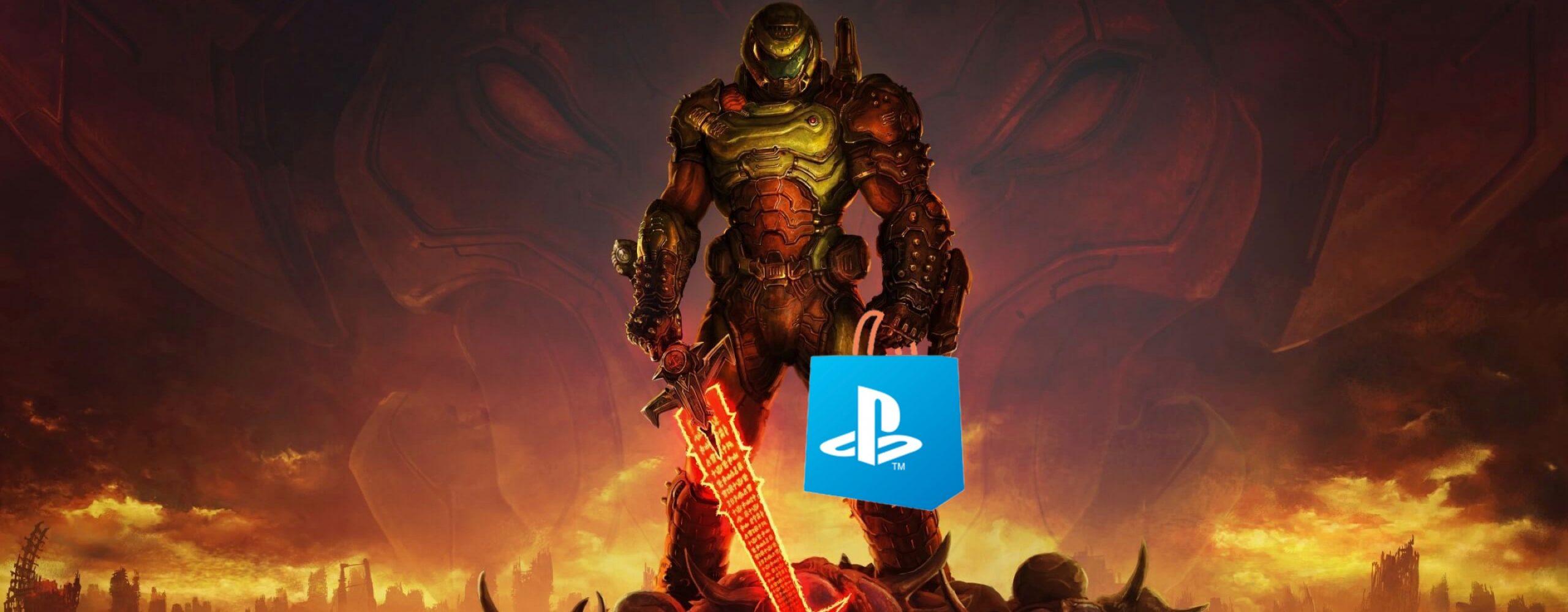 PS Store: Schnappt euch jetzt Shooter-Hit Doom Eternal als Angebot der Woche