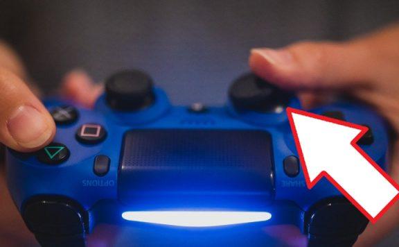 PS4 Controller Titel mit Pfeil