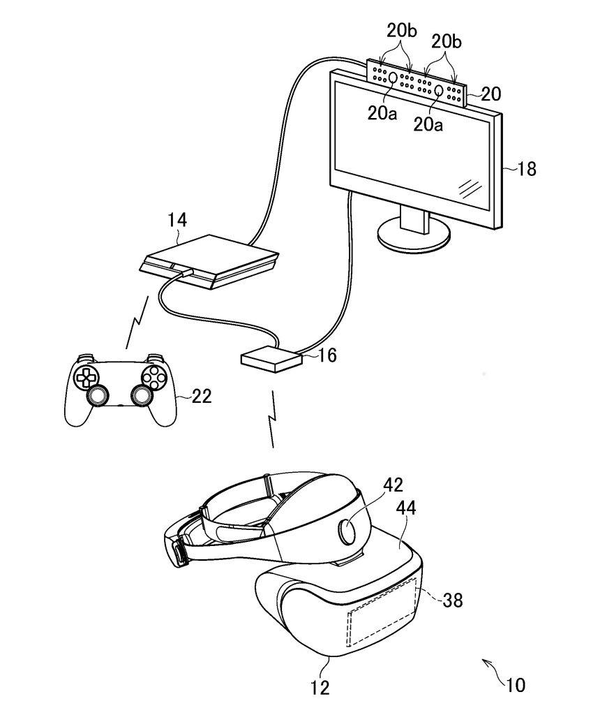 PlayStation VR Patent PS4 und PS5 von Sony