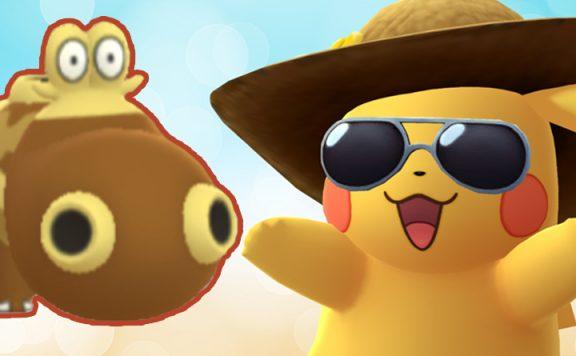 Pokémon GO Hippopotas Titel