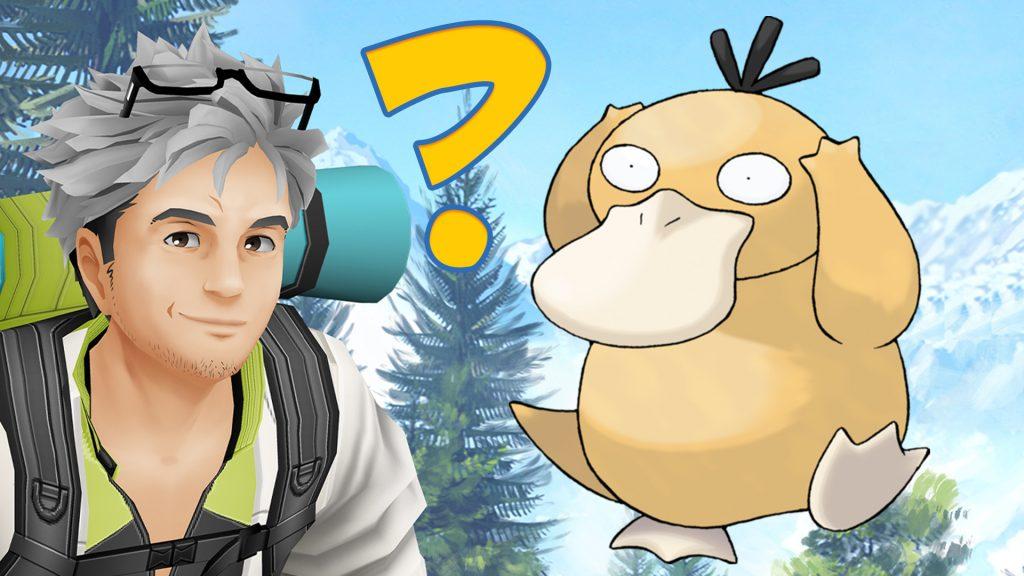 Pokémon GO Quiz Titel Enton Willow Frage Fragezeichen