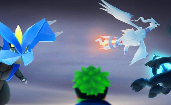 Pokémon GO Reshiram Zekrom Kyurem Titel