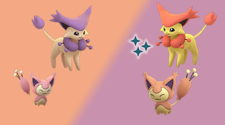 Pokémon GO Shiny Eneco