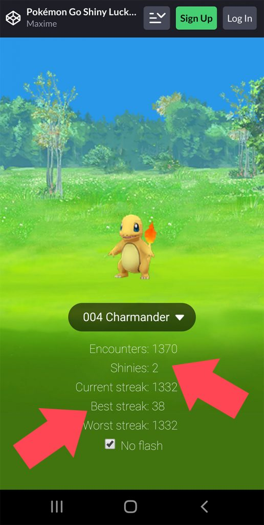 Pokémon GO Shiny Glumanda Chance