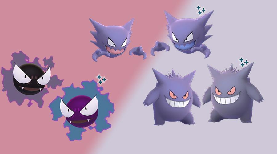 Pokémon GO Shiny Nebulak Familie
