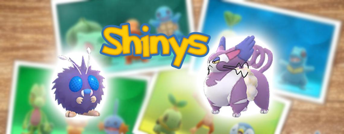 Pokémon GO Shinys Bluzuk Shnurgarst Titel