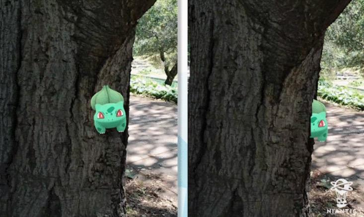 Pokemon GO Reality Blending