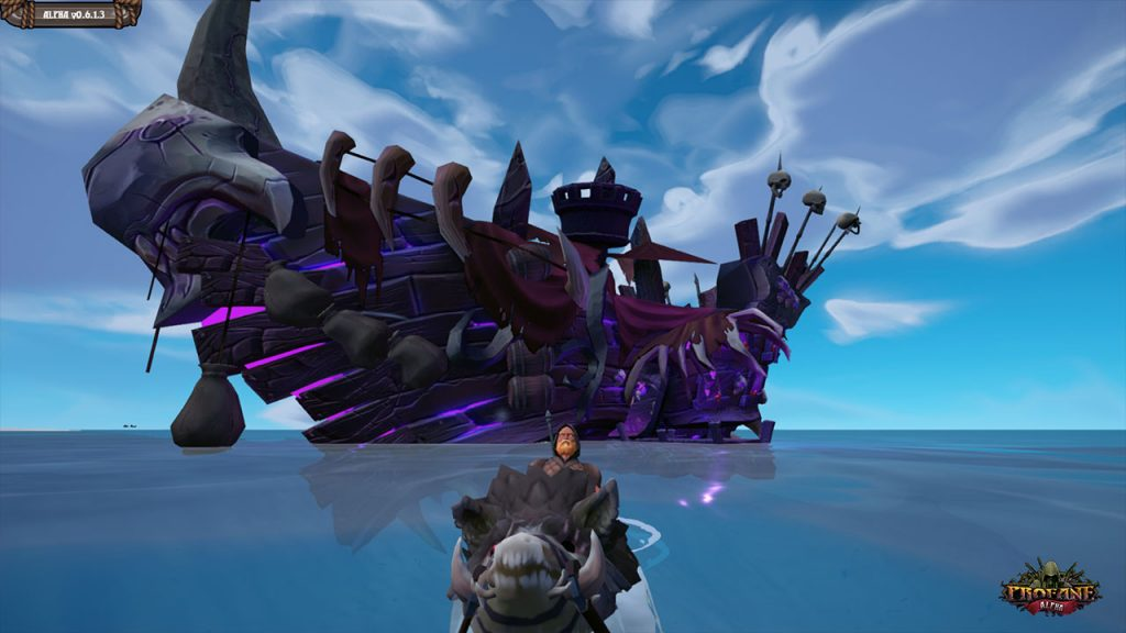 Profane Geisterschiff