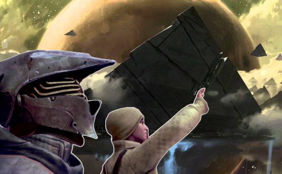 Pyramid Dunkelheit Ankunft Teaser Titel Destiny