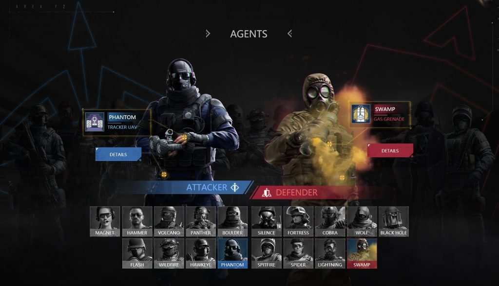 Rainbow Six Siege Area F2 Operator