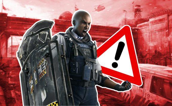 Rainbow Six Siege Clash Warnung TItel Fehler
