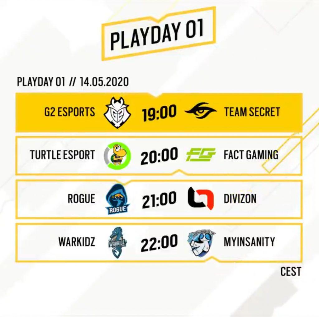 Rainbow Six Siege GSA League playday 1