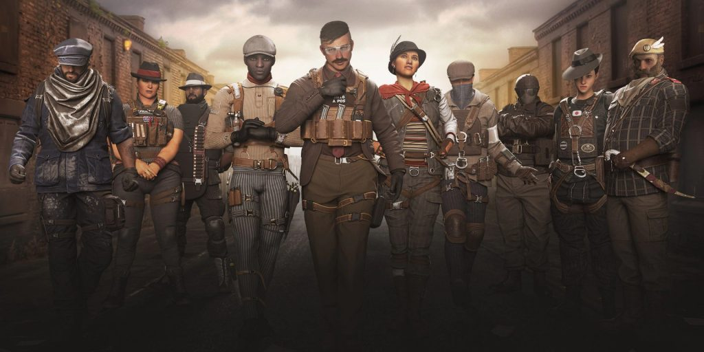 Rainbow Six Siege Grand LArgency Operator Skins