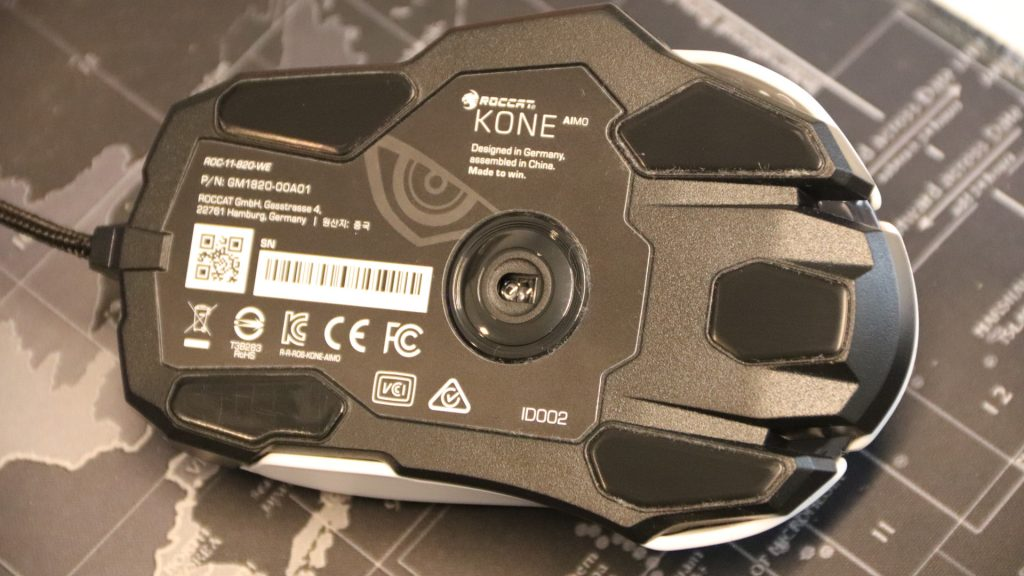 Roccat Kone Aimo Remastered - Rückseite