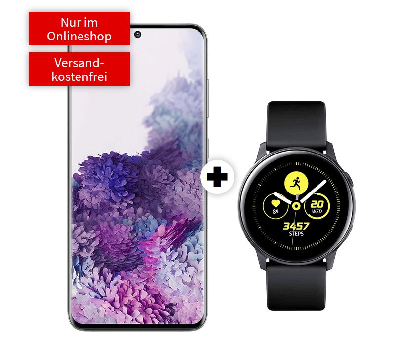 SAMSUNG Galaxy S20 & Samsung Galaxy Watch Active 40mm