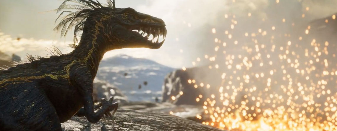 Xbox Series X zeigt neuen Koop-Shooter, in dem ihr gegen Mutanten-Dinos kämpft