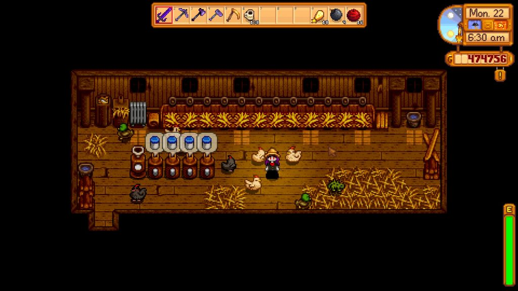 Stardew Valley Barn Chicken