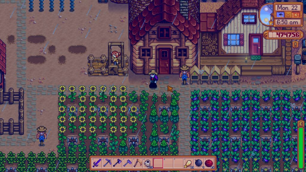 Stardew Valley Rainy Day