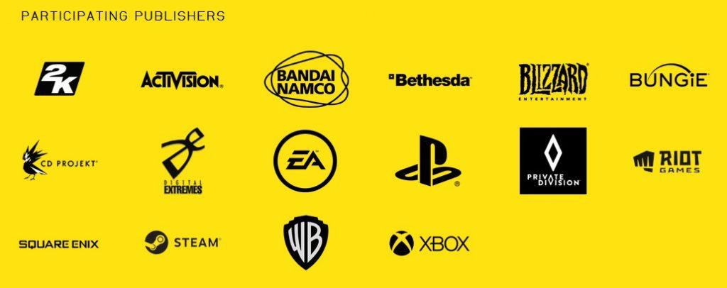 Summer Game Fest 2020 Publisher
