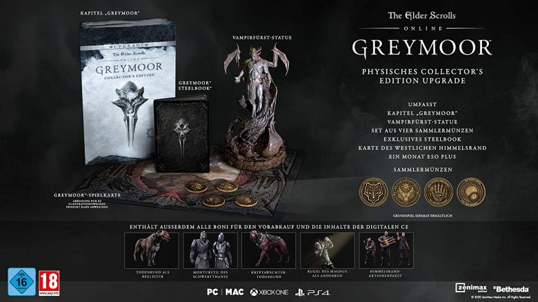 The Elder Scrolls Online Greymoor CE Titel 2