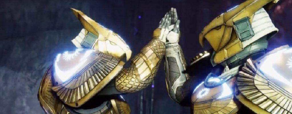 Titan Hight Five Titel Osiris Destiny 2